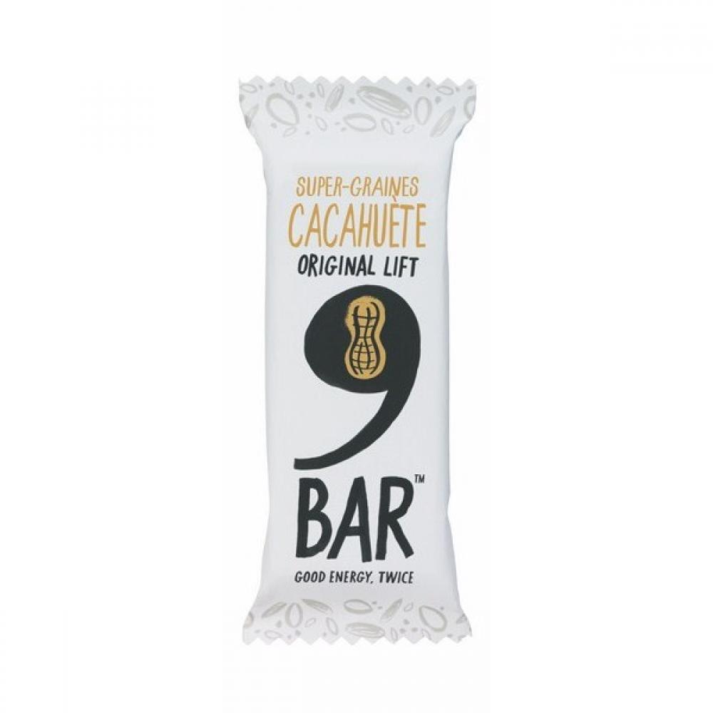 9Bar Super Seeds Peanut Bar 40g
